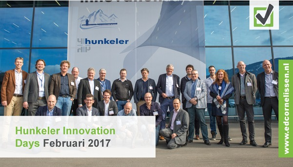 Ed Cornelissen bij Hunkeler Innovation Days